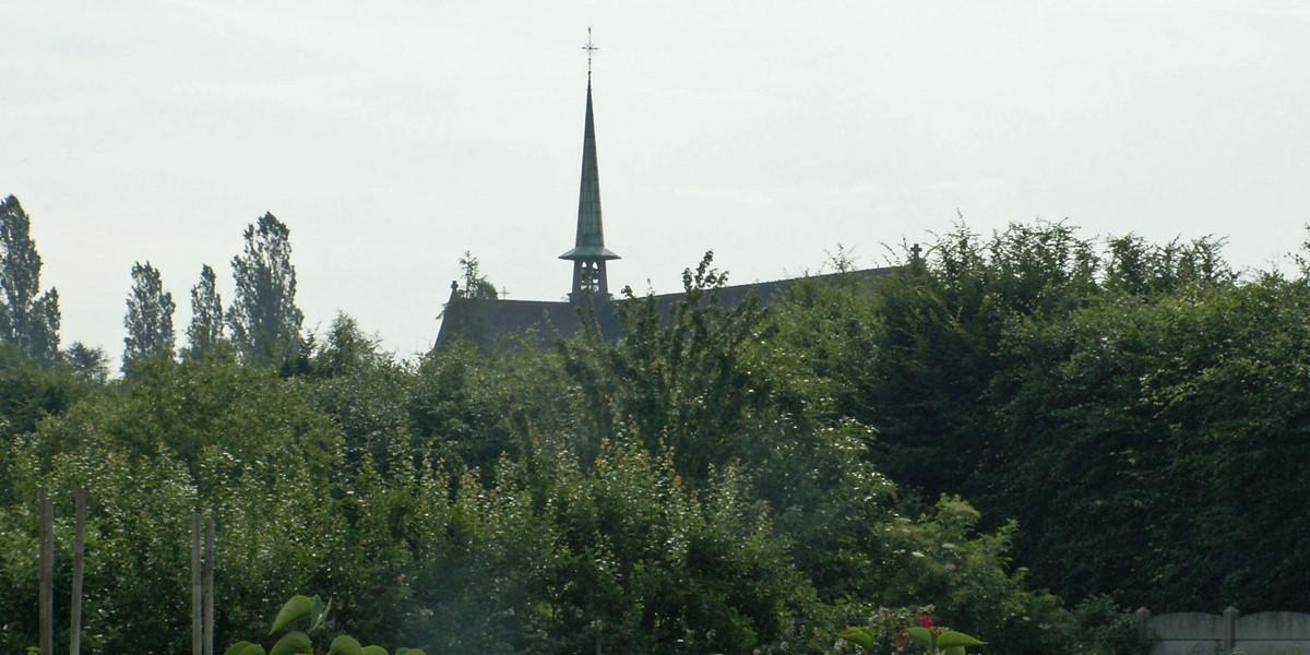 zicht op het voormalige klooster