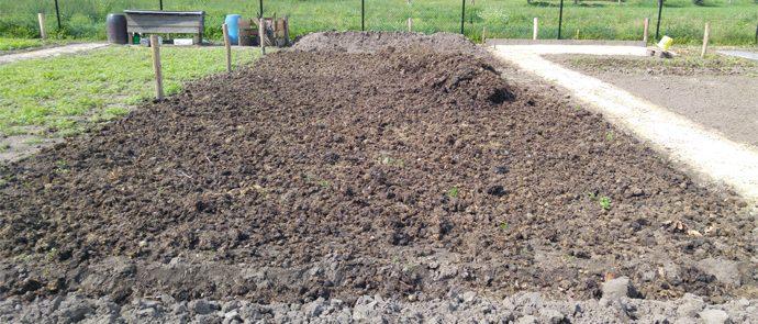 voorbewerkte grond